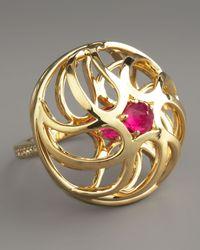 Paolo Costagli | Metallic Contarini Ruby Diamond Ring | Lyst