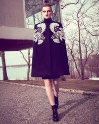Stella McCartney Black Classic Longsleeve Jersey Sheath Dress