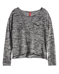 H&M | Black Bandeau Dress | Lyst