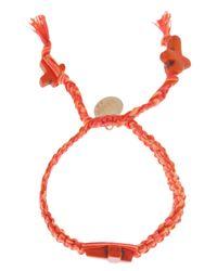 Venessa Arizaga | Orange 'love Fool' Bracelet | Lyst
