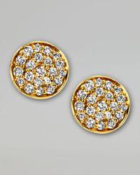 Ippolita Yellow Stardust Mini Diamond Stud Earrings