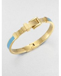 Michael Kors - Buckle Bangle Bracelet - Lyst
