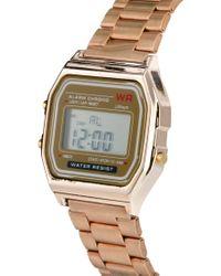 River Island Metallic Aaron Rose Gold Watch