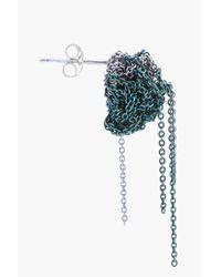 Arielle De Pinto - Green Two Tone Bead Earrings - Lyst