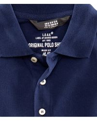 H&M - Blue Polo Shirt for Men - Lyst