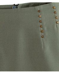 H&M Natural Mini Skirt