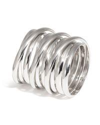 H&M Metallic Spiral Ring