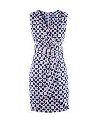 H&M Blue Wrap Dress