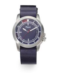 Miansai - Blue M3 Stainless Steel Watch - Lyst