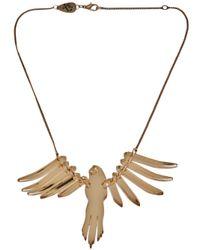 Tatty Devine | Metallic Parakeet Necklace | Lyst