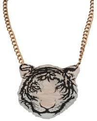 Tatty Devine | Multicolor Tiger Necklace | Lyst