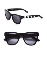 Westward Leaning - Black Love Thy Neighbor Beaded Acetate Square Sunglasses - Lyst