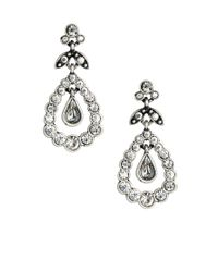 Cath Kidston - Metallic Pear Drop Earrings - Lyst