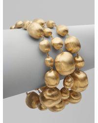 Marco Bicego | Metallic 18k Yellow Gold Bead Bracelet | Lyst