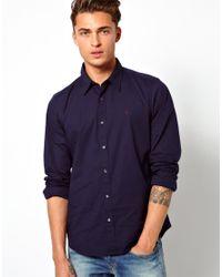 Replay Blue Shirt Core Logo for men