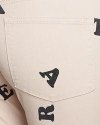 BCBGeneration Natural Jeans Jasper Skinny Denim in Nude Blush