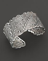 Buccellati - Metallic Oak Leaf Cuff Bracelet - Lyst