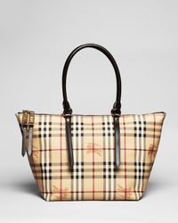 Burberry   Brown Tote Small Salisbury   Lyst