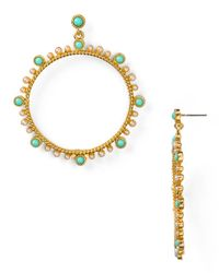 Carolee | Metallic Large Open Circle Earrings | Lyst