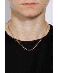Carolina Bucci - Metallic Mini Diamond Bar Necklace - Lyst