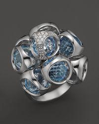 Di Modolo Metallic Topaz Cluster Ring