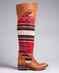Freebird by Steven Brown Freebird Over The Knee Boots Caballero