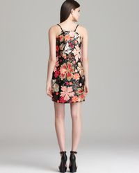 French Connection Multicolor Dress Aloha Spring Sequin