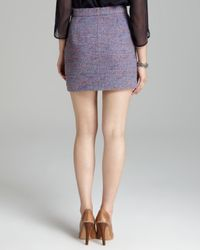 French Connection Multicolor Skirt Rainbow Boucle