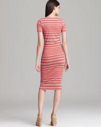French Connection Multicolor Dress Marissa Stripe
