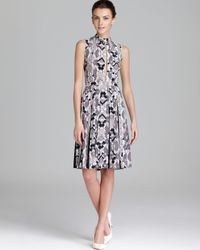 French Connection Gray Fast Python Pixel Dress