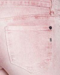 Genetic Denim Gray Jeans Shya Crop in Patriot