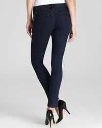 Guess Black Jeans Brittney Leggings in Jacquard