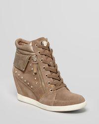Guess Natural Wedge Sneakers Hitzo
