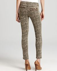 Guess Green Jeans Seven Zip Skinny in Camo