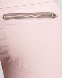 Guess Pink Jeans Eight Zip Skinny