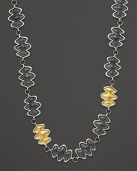 Gurhan | Metallic Flame Necklace in Sterling Silver  | Lyst