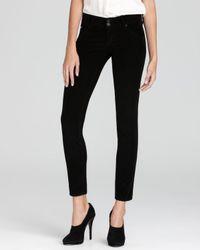 Hudson Jeans Black Jeans Collin Skinny Cord
