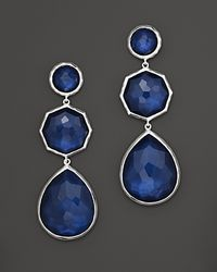 Ippolita Metallic Ippolita Midnight Wonderland Sterling Silver Rock Candy Crazy 8s Earrings in Midnight