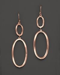 Ippolita | Pink Ippolita Rose Wavy Link Earrings | Lyst