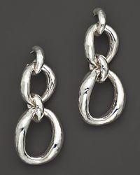 Ippolita - Metallic Sterling Silver Glamazon Double Drop Earrings - Lyst