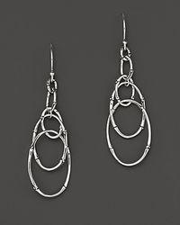 John Hardy | Metallic Bamboo Sterling Silver Dangling Earrings | Lyst