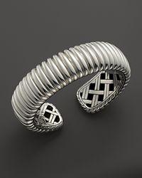 John Hardy | Metallic Bedeg Sterling Silver Kick Cuff | Lyst