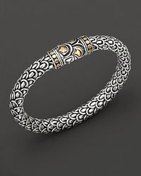 John Hardy | Metallic Sterling Silver And 18k Bonded Gold Naga Medium Chain Bracelet | Lyst