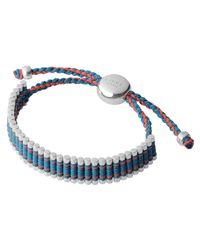 Links of London | Blue Turquoise Copper Glitter Friendship Bracelet | Lyst