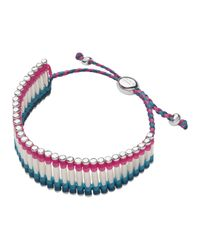 Links of London - Pink Friendship Bracelet - Lyst