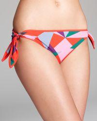 Marc By Marc Jacobs Multicolor Marc By Marc Jacobs Taboo Side Tie Bikini Bottom