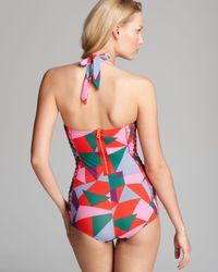Marc By Marc Jacobs Multicolor Taboo Retro Malliot One Piece Swimsuit