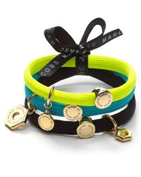 Marc By Marc Jacobs Multicolor Bolt Cluster Hair Ties