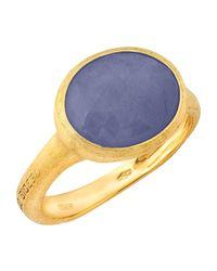 Marco Bicego | 18k Yellow Gold Siviglia Sapphire Ring | Lyst