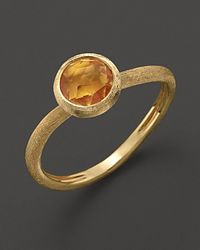 Marco Bicego - Yellow Citrine Stackable Jaipur Ring - Lyst